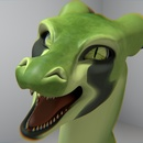 Green Dragon 1 (Blender)