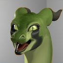 Green Dragon 2 (Blender)