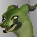 Green Dragon 3 (Blender)