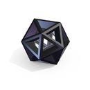 Extruded Icosphere (Blender)